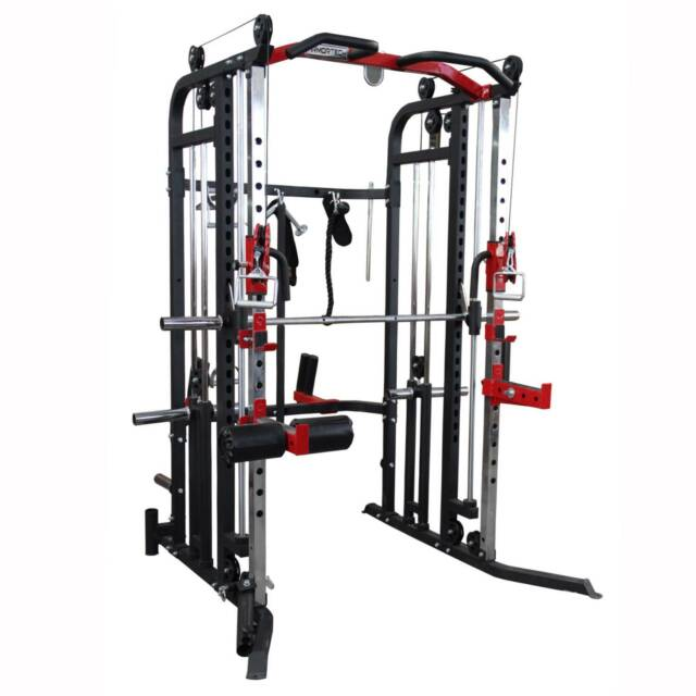 ARMORTECH F30 FULL FUNCTIONAL HOME GYM 100KG WEIGHTS