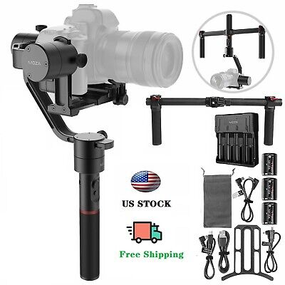 Used Moza Air 3-Axis Handheld Gimbal Stabilizer for Mirrorless and DSLR Cameras