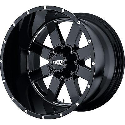 22x14 Black Moto Metal MO962 8x6.5 -76 Wheels Trail Grappler 37x13.50R22LT
