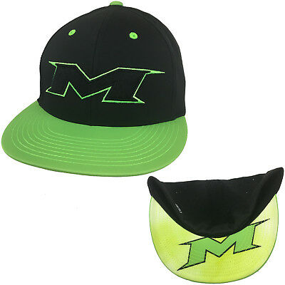 042663c3fdb8 Miken Hat by Richardson PTS30 NeonGreen/All Blk/NeonGreen/Blk-Volt Clouds  LG/XL
