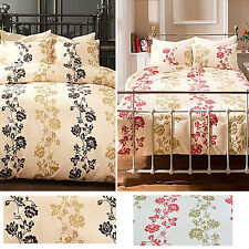 Marlow bed set floral duvet quilt cover bedding sets Single Double King