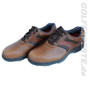 FOOTJOY-golf-Uomo-Carpe-golf-CONTOUR-SERIE-MARRONE-IMPERMEABILE