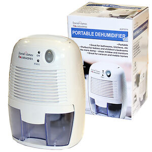 Dehumidifier Home Portable Air Dryer Damp Moisture Free Bedroom Kitchen Bathroom