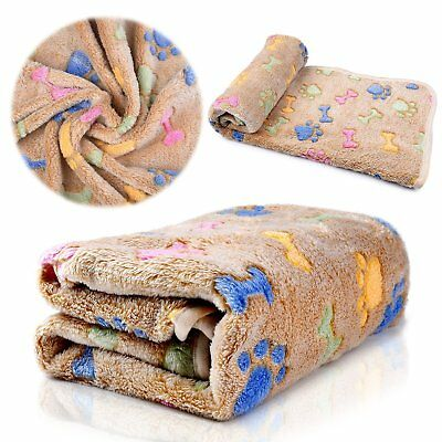 Pet Dog Cat Cozy Blanket Puppy Fleece Soft Warm Bed Cover Cushion Mat Blanket