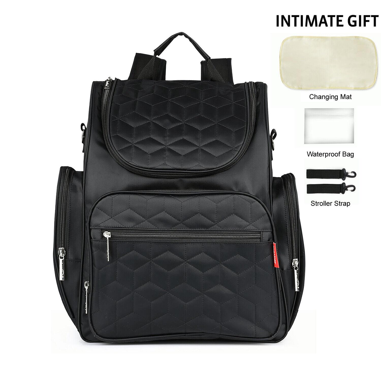 Baby Diaper Bag Waterproof Mom Maternity Travel Backpack Lar