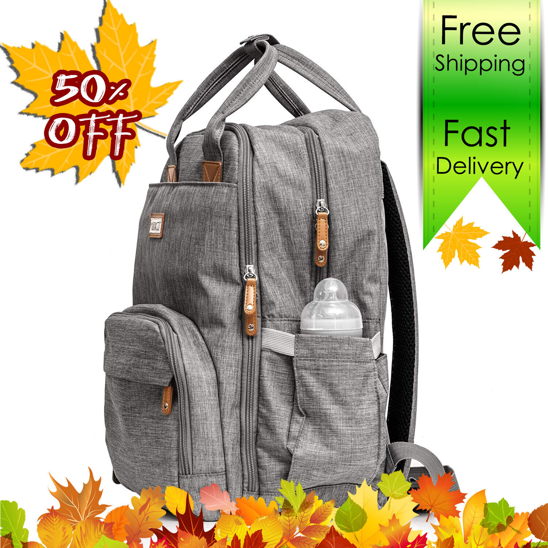Diaper bag backpack Baby Travel waterproof large pack mummy