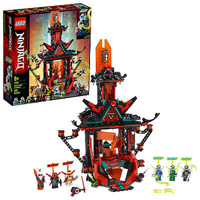 LEGO NINJAGO Empire Temple of Madness 71712 Ninja Temple Building Kit New 2020