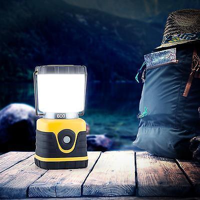 LED CAMPING LAMPE OUTDOOR LATERNE ZELTLAMPE CAMPINGLEUCHTE CAMPINGLATERNE GELB
