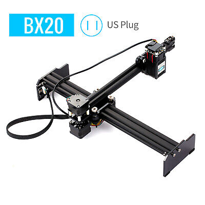 Bx20 20w Lase-r Engraving Cutter Machine Engraver Printer Art Craft Diy