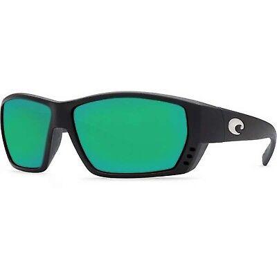 c6f2527857 NEW Costa Del Mar Tuna Alley Matte Black Frame   Green Mirror 580G  TA11OGMGLP