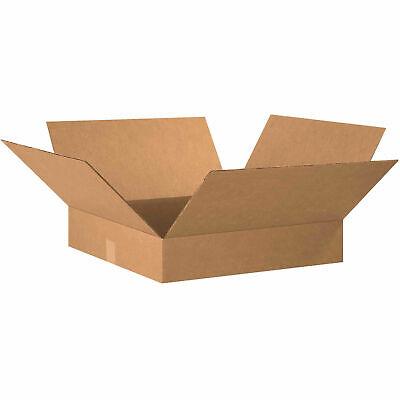 20 X 20 X 4 Flat Cardboard Corrugated Boxes 200ect-32 Lot Of 20
