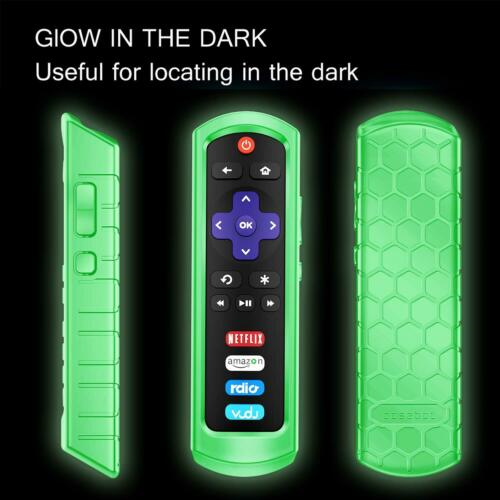 for Roku Steaming Stick  / TCL Roku TV RC280 Remote Silicone