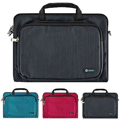 """Slim 15.6"""" Luxury Ultrabook Laptop Sleeve Handle Bag Pouch Case Cover"""