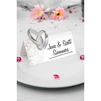 Tischkarten Namensschilder für Hochzeit - 36 Stück Neu & OVP