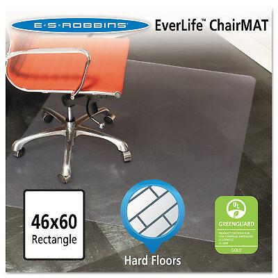 Es Robbins 46x60 Rectangle Chair Mat Multi-task Series For Hard Floors Heavier