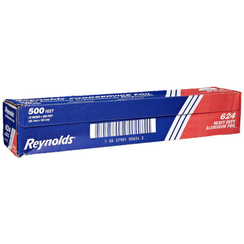 Reynolds 624 Heavy-Duty Aluminum Foil Roll, 500