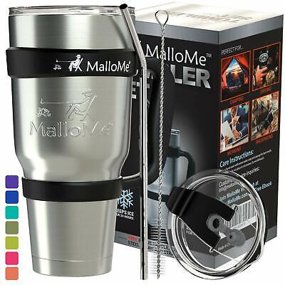MalloMe Tumbler Stainless Steel Insulated Tumbler With Straw – Best