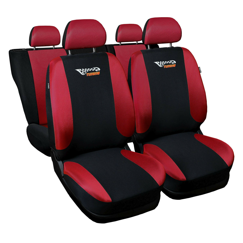 Opel Zafira Universal Rot Sitzbezüge Sitzbezug Autositz Schonbezüge Tuning