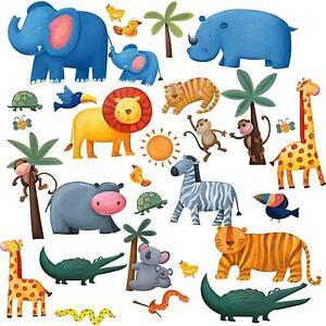Children S Wall Stickers Ebay