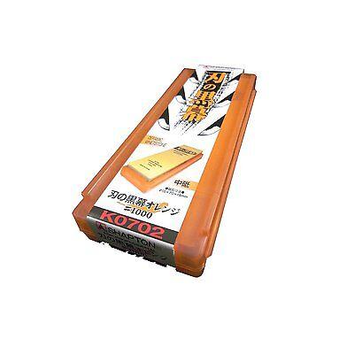 JAPANESE Shapton Sharpening whetstones stone wirepuller of edge Orange #1000