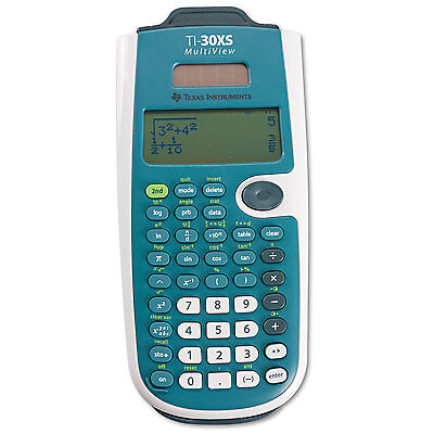 Texas Instruments TI-30XS MultiView Scientific Calculator 16-Digit LCD TI30XSMV