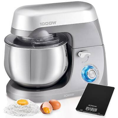 Robot cocina multifuncion batidora amasadora reposteria 5L 1000W Bomann KM 6009