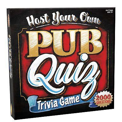 Own Quiz Game - Host Your Own Pub Quiz Trivia Game