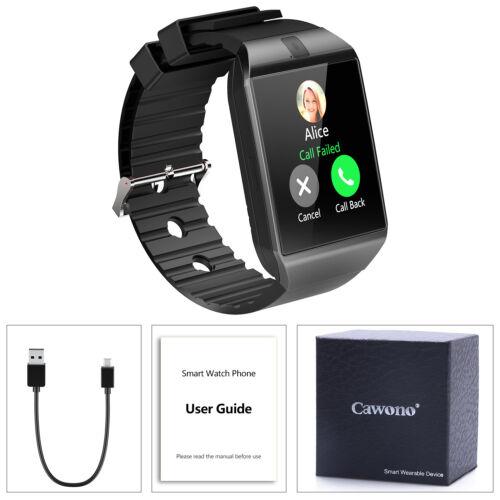 Ladies DZ09 Bluetooth Smart Watch Camera SIM For Samsung Android Phone Women US