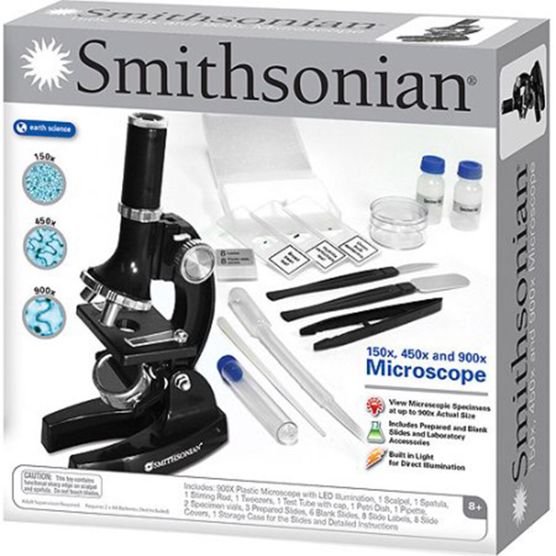 Educational Toys For Kids Microscope Kit Science Chemistry L