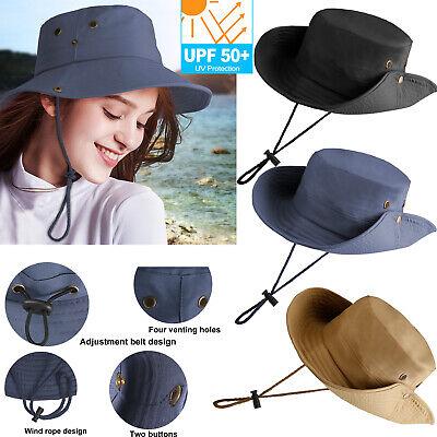 Men Women UV Protection Sun Visor Hat Cap Wide Brim Floppy Hat For Beach Camping Beach Sun Floppy Hat