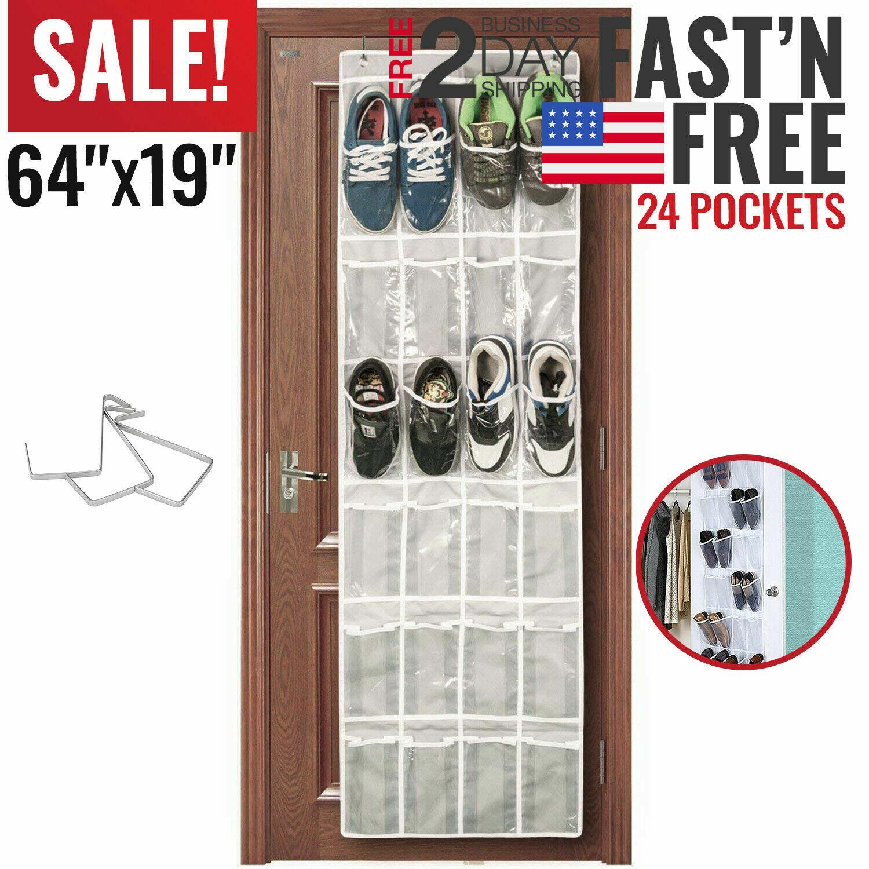 over the door shoe organizer rack hanging