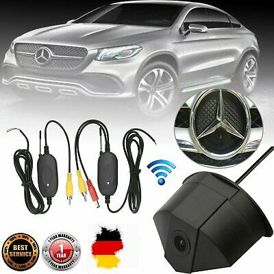 Kabellos Frontkamera Emblem Einparkhile F. Mercedes Benz A B GLA GLC CLK GLK CLS
