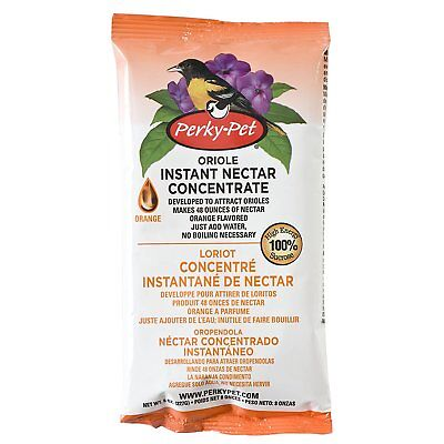 Perky Pet Oriole Instant Nectar Concentrate, No Boil, Makes 48 oz.
