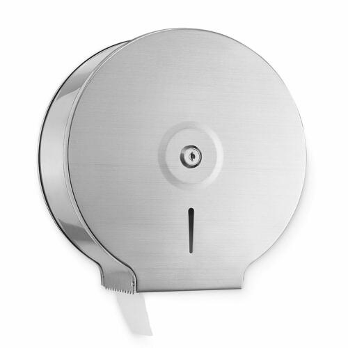 Alpine Industries Stainless Steel Jumbo Toilet Tissue Dispenser - 9 In. Roll