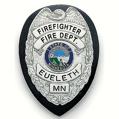 New Galls Law Enforcement Fire Security Badge Holder Bc246 Free Shipping