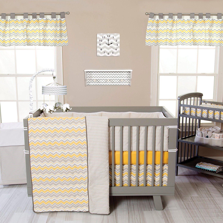 buttercup zigzag baby nursery crib bedding choose