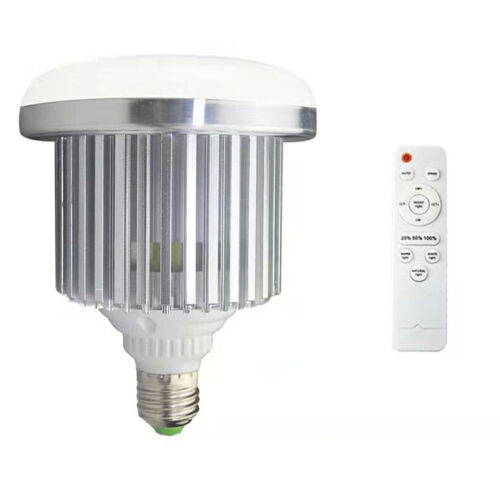 85 Watt Bi-Color LED Screw Base with Remote Control