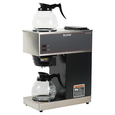 Bunn Vpr 12-cup Commercial Pour-over Coffee Maker With 2 Glass Carafes New