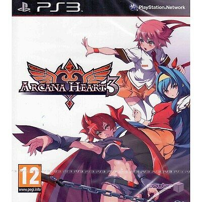 Arcana Heart 3  Playstation 3 Ps3  Region Free  Fighting Action Online Play  New