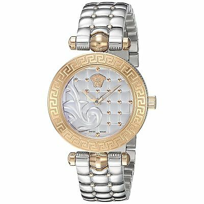 Versace VQM110016 Women's MICRO VANITAS Two-Tone Quartz Watch