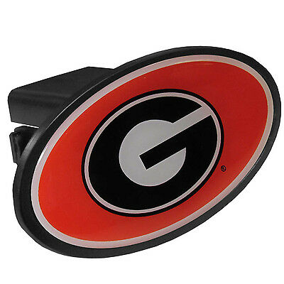 Georgia Bulldogs Durable Plastic Oval Hitch Cover NCAA Licensed