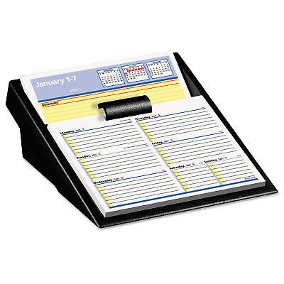 Flip A Week Calendar - At-A-Glance Flip-A-Week Desk Calendar Refill with QuickNotes 5 5/8 x 7 White