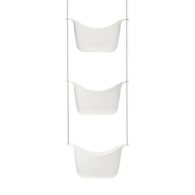 Umbra Bask Shower Caddy - White/Nickel