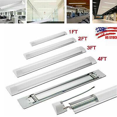 LED Linear Batten Tube Light 1FT 2FT 3FT 4FT Ceiling Surface Mount Lamp Fixture 1 Light Ceiling Lighting