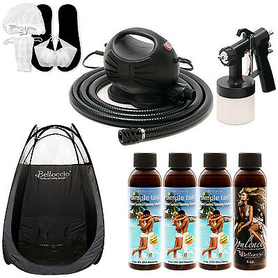 Apollo Happy Mist Sunless Airbrush Spray Tanning System S...
