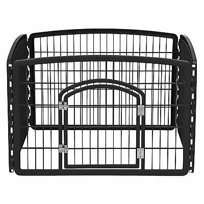 Small Dog Playpen Indoor With Door Durable Economical Fence Create Large Pet