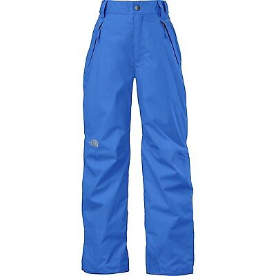 The North Face Discretion Insulated Kids Ski Pants BLUE MEDIUM 10/12