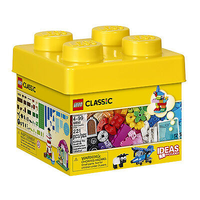 LEGO Classic Creative Brick Box Building Block Toy Set Kids Gift 221 Pieces NEW