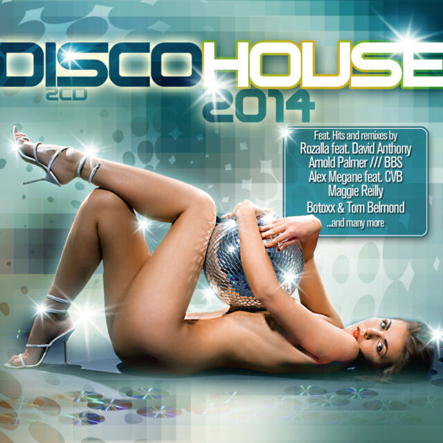 CD Disco House 2014 von Various Artists 2CDs