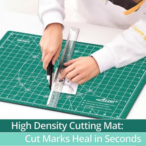 New Cutting Mat Pad Self Healing Mat Non-slip Double-sided knife board A4:12x9